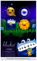 Fearful Kat icons by chicho21net