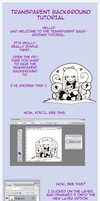 Transparent BG Tutorial by NellyOnly