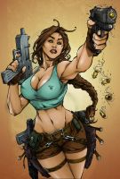 TombRAider - Drawing by PANT, colors Me! by NikiVandermosten