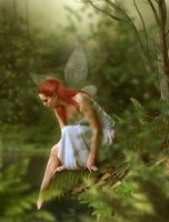 Ava - the fairy goddess by theancientsoul