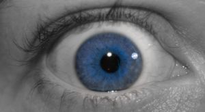 eye close blue by tash11