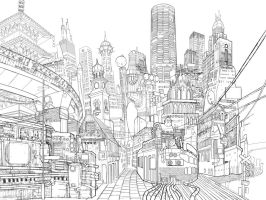 Gotham City by Shin500