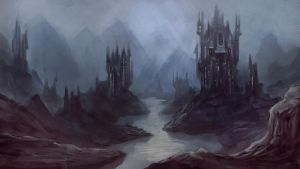 Speedpaint: Dread Fortress by JuneJenssen