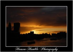 London Sunset by Humble-Photography