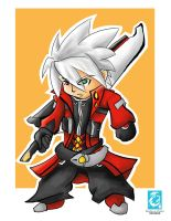 BlazBlue - Ragna the Bloodedge Chibi by RedCaliburn