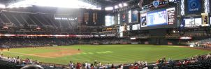 Chase Field Panorama 4 by kkworker