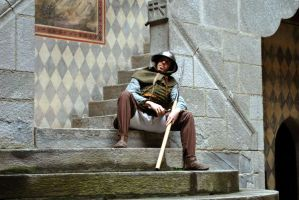 The Asleep Soldier by SpeculumHistoriae