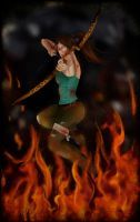 Jump in the fire by Urumiccina