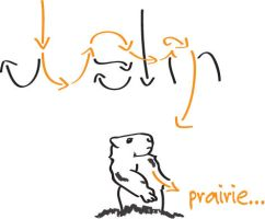 Abstract Justin/Prairie by JMiale