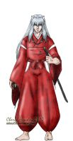 Inuyasha colors by dymira128