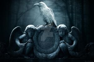 Guardian of the Ravens by KerriAnnCrau