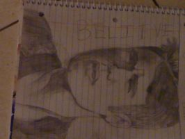 MY DRAWING OF JUSTIN BIEBER by AnimatedSquirrel