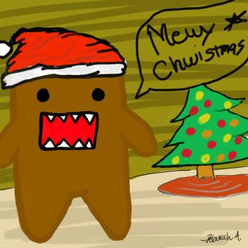 Merry Christmas Domo by devianthappiness