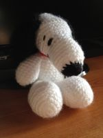 Snoopy Amigurumi by CataCata23