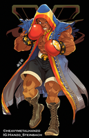 Street Fighter V-Balrog by HeavyMetalHanzo