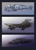 Ships concepts by Pintoro