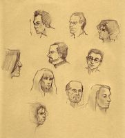 Some Faces by JessicaDru