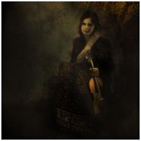 Girl with a violin by Smygol