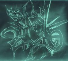 graffiti text by C-jack