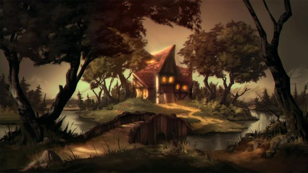 fairytale project stepmothers house by Abuze
