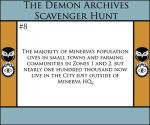 The Demon Archives Scavenger Hunt - Card #8 by TheDemonArchives