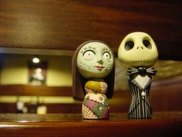Jack and Sally by darksidehk