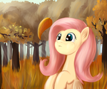 Autumn Fluttershy by Sokolas
