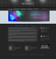 Inconnect Template No. 2 by princepal