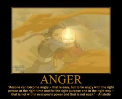 Anger Motivational Poster by fifthknown