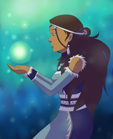 Katara - Water Tribe Priestess by shango266
