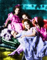 Imperial Children, 1904 by Sonja-from-Finland