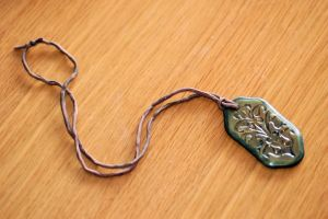 Embossed Pendant by Etherpendant