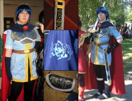Prince Marth cosplay by Aselea