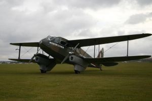 scottish airways DH rapide by Sceptre63