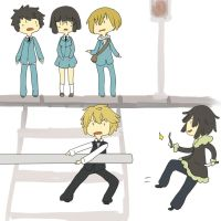 Durarara AT style by Adoptaburs