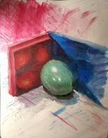 Colored Egg by Amhelderman