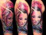 Geisha Tattoo by hatefulss