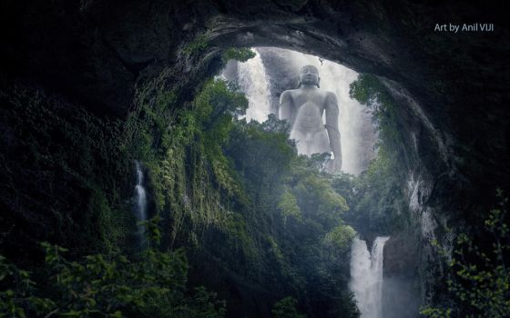 Baahubali Matte Painting by Movlance