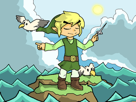 the newest wind waker by OrionOnion