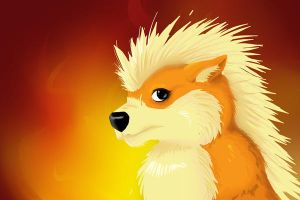 AT arcanine by Drrrakonis