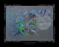 Green Bird Dragon by Michelle-JA-McIntyre