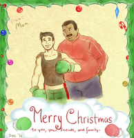 Merry X-mas 2011 by AlbinoAngstbucket