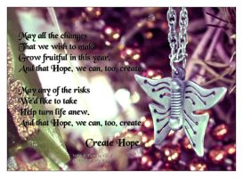 Create Hope by TeaPhotography