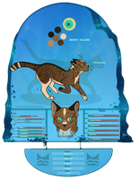 TDE | Echofall:  Riverclan Warrior by SaintPumpkinMuffin
