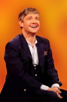 Martin Freeman - Digital Painting by rebeccaholmes