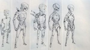 Evolution of the Automates by Tedimus