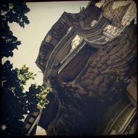 Postcards from Sofia VIII - Eagle by StreetOfEarlySorrows