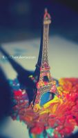 365: 60. Paris, colorful. by KimChev