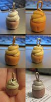 Cupcake Necklace by ChaosBlacke