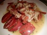 Baked Boston Lobster with Special Gravy by nosugarjustanger